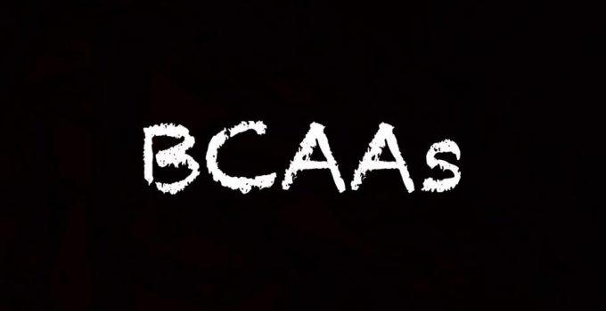 benefits of taking BCAAs